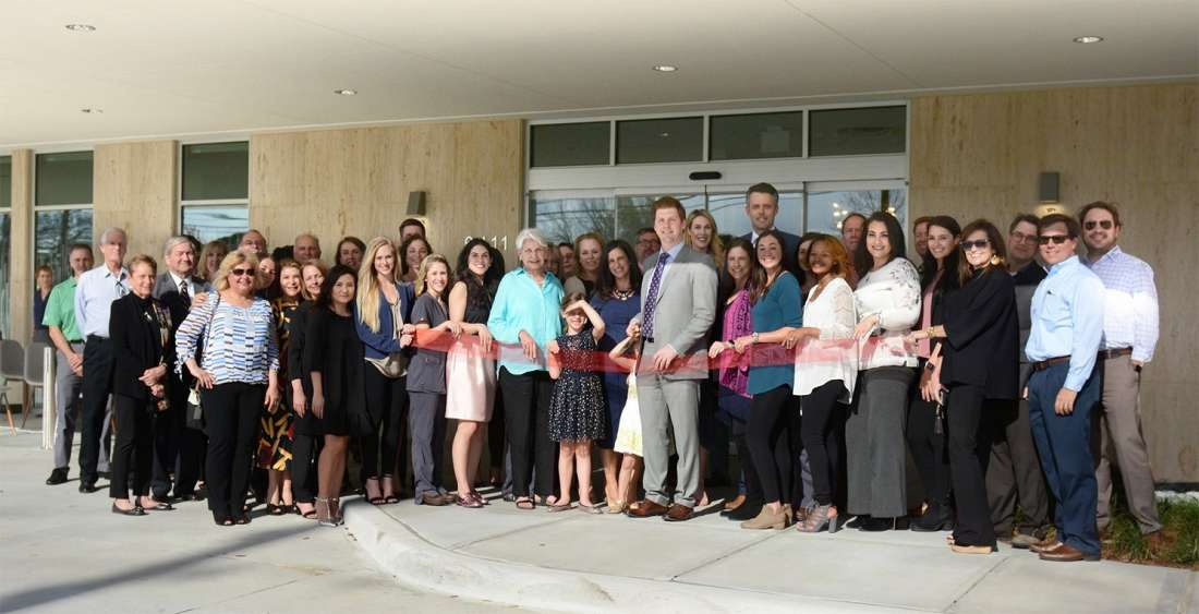 Sanova Dermatology Ribbon Cutting