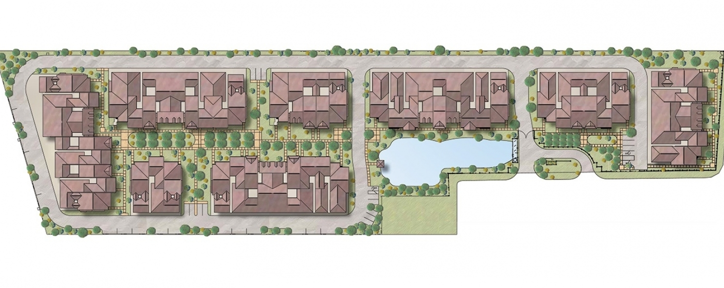 06 0313 Rendered Site Plan With Unit No 05 090