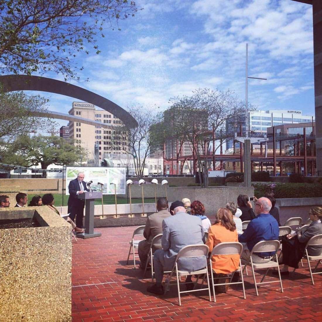 Baton Rouge City Hall Groundbreaking