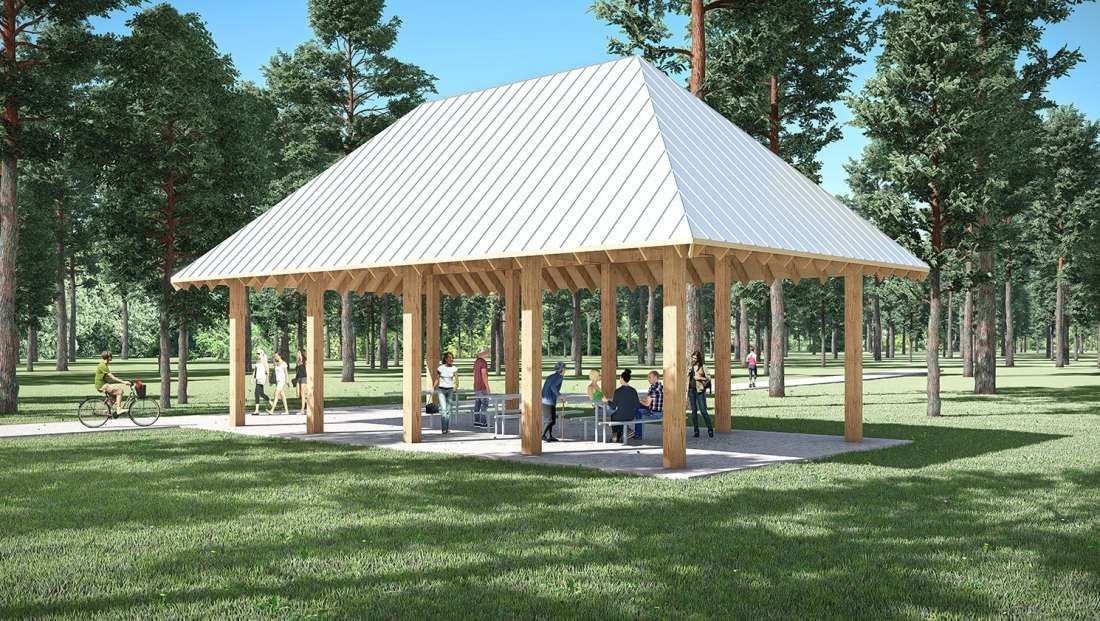 Natchitoches Sports And Recreation Park Pavilion