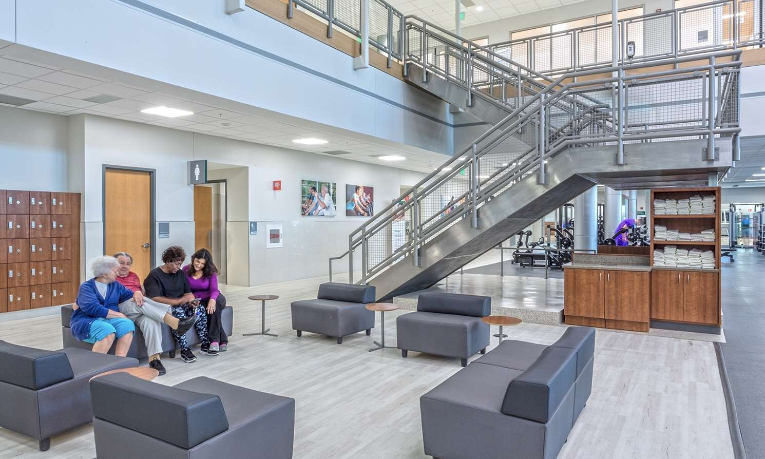 Thibodaux Wellness Stair
