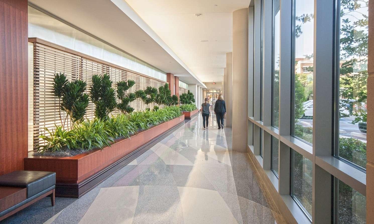Baton Rouge General Medical Center Office Building Internal Colonnade