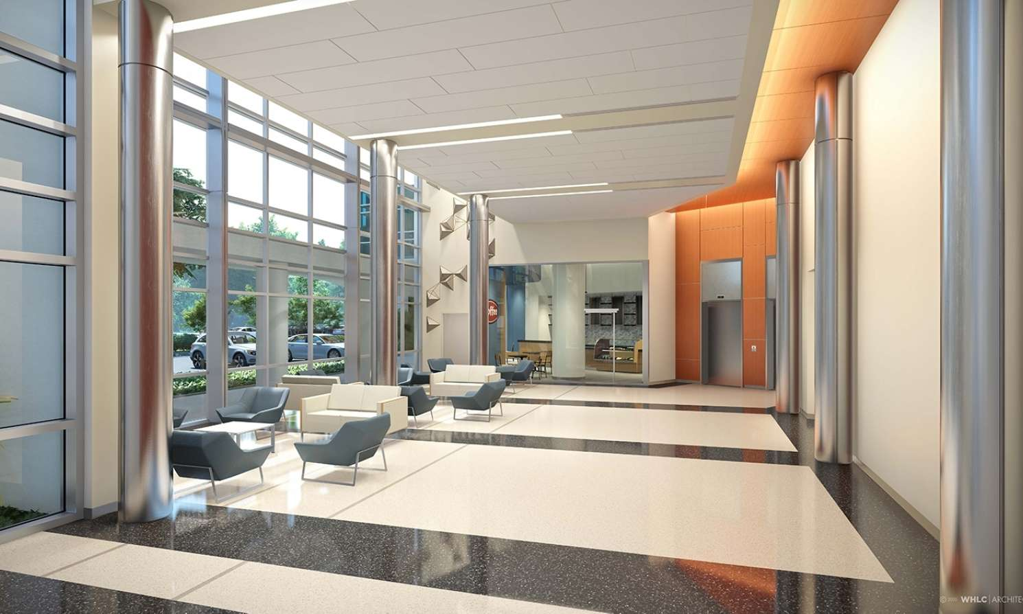 OLGMC patient tower lobby
