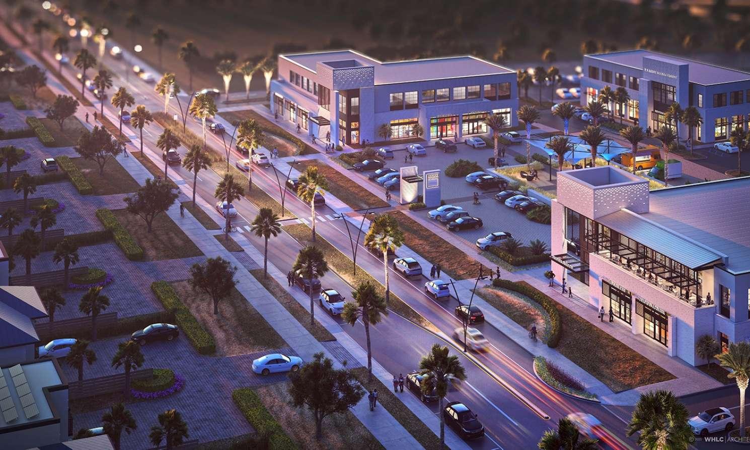 Perdido Town Center streetscape V1 6 F r ws