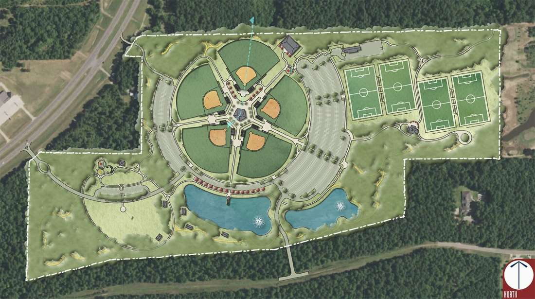 Natchitoches Sports And Recreation Park Ball Fields